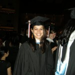 My niece, Tara, on graduation day