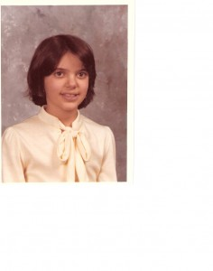 Me, in fifth grade. Back when you got a free comb on picture day.