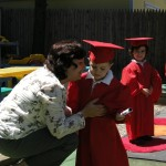 "James at his daycare ""graduation"""