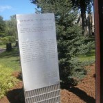The 9/11 Memorial plaque