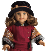 This is Rebecca, a $105 American Girl doll.