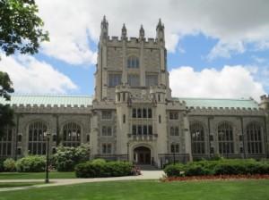 Vassar's main library