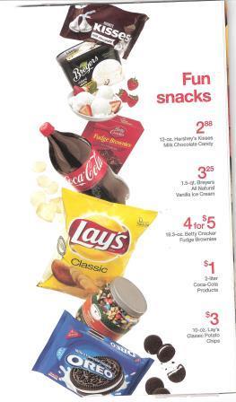 target snacks
