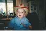 My little cowboy: Who wouldn't want to be his friend?